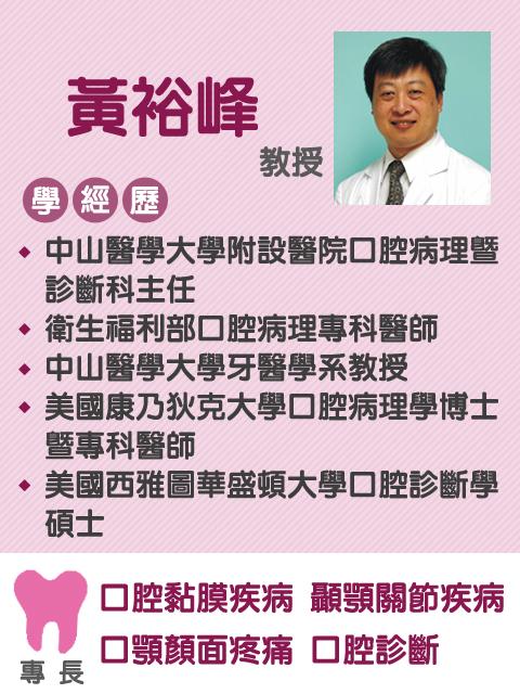 黃裕峰 教授